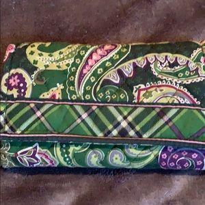 Vera Bradley vintage Velcro wallet